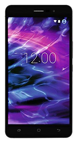 MEDION S5504 Smartphone (13,97 cm (5.5 Zoll) HD Touchscreen-Bildschirm, LTE, 13 Megapixel Rückkamera, 8 Megapixel Frontkamera, Octa-Core-Prozessor, Dual-SIM, 32 GB, Android Lollipop 5.1) schwarz