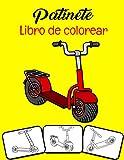 Patinete Libro de colorear: ¡Colorea y diviértete! Los niños aprenderán...