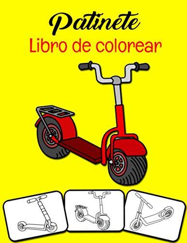 Patinete Libro de colorear: ¡Colorea y diviértete! Los niños aprenderán sobre Kick Scooter con este impresionante libro para colorear Kick Scooter.