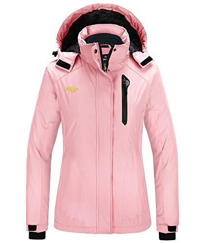 Wantdo Skikleding Jacks voor Dames Regenjassen Waterdicht Buitenshuis