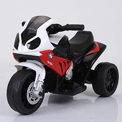 BMW S1000RR Trike Bike Motorbike Electric Ride On 6v Kids Bike Official Licensed BMW Bikes Red