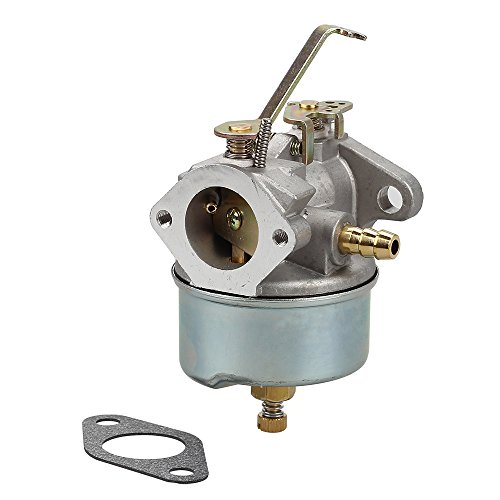 Savior 632272 Carburetor with Gasket for Tecumseh Carb H30 H50 H60 HH60 632230 632631 631067 632235 631867 632019A 632019 631828 632076 631067 632076 631067A Carb 5HP 6HP Troy-Bilt Hose Tiller Engine
