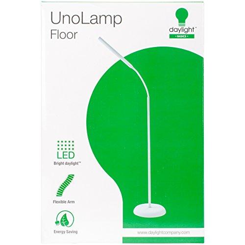 Daylight Company LLC UN1430 Daylight Uno LED Art & Craft Floor Lamp-White