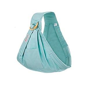 WANGSCANIS Cómoda bolsa de lactancia Correa extensible y artificial Cesta de envoltura con anilla resistente para literas (verde, talla única)