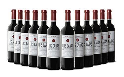 Luis Cañas Crianza Vino Tinto Caja Cartón 12 Botellas - 750 ml