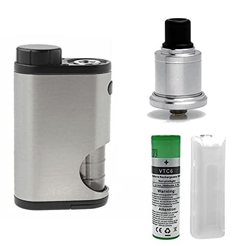 Kit combo Pico Squeeze con Speed Revolution EVO SXK VTC6 3000mAh sigaretta elettronica svapo svaposervizi bottom feeder resa aromatica rigenerabile da guancia