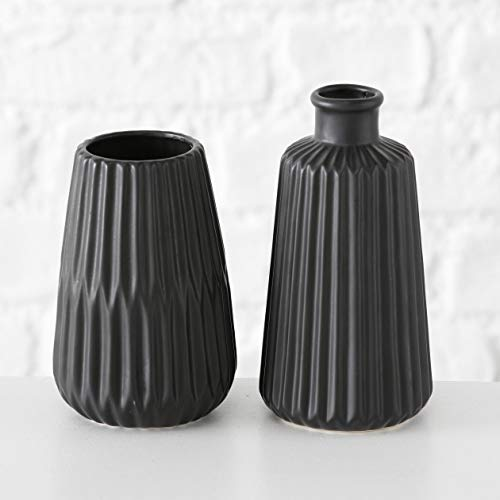 Mucplants Juego de 2 jarrones de Porcelana