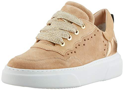 Maripe Damen 28463 Sneaker, Beige (Avana(Velour Avana-VAR.08) 9), 39 EU