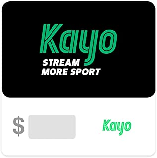 $25 Kayo Sports Gift Card - Delivered via email