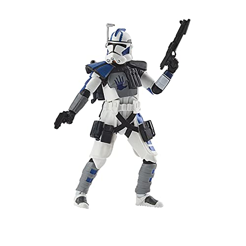 Star Wars Hasbro The Vintage Collection, Arc Trooper Echo, Action Figure da 9,5 cm, Guerra dei cloni, per Bambini dai 4 Anni in su
