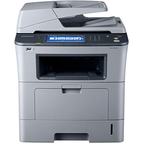 Samsung SCX5935FN - Multifunction Printer, 1200 dpi, 19-3/5x18x21-1/2, Gray
