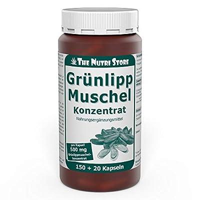 Grünlippmuschel 500 mg Konzentrat Kapseln 150+20 Stk.