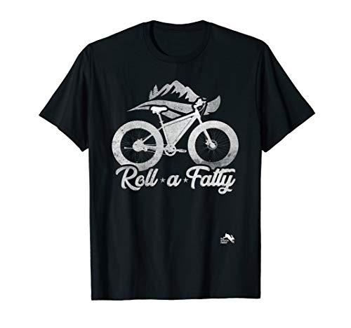 Roll a Fatty Fat Tire Bike eBike T-Shirt