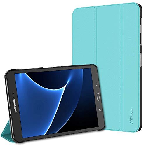 JETech Funda para Samsung Galaxy Tab A 10,1 2016 (SM-T580 / T585, No para el Modelo 2019) Carcasa con Soporte Función, Auto-Sueño/Estela, Azul