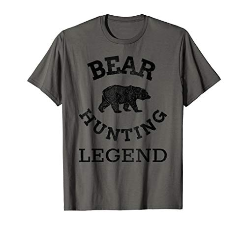 Bear Gear for Hunters - Bear Hunting Legend T-Shirt