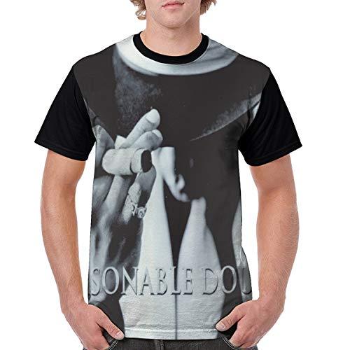 Jay-Z Reasonable Doubt Mens Short Sleeve Baseball T Shirt Casual Tshirts Black