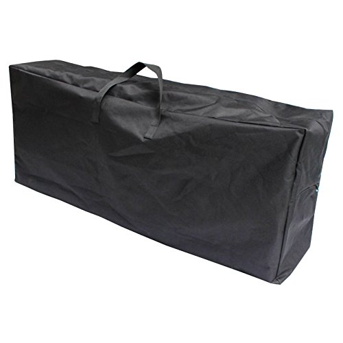 Micro-Pro Large Storage Bag Christmas Tree Water Resistant Black Heavy Duty Outdoor Garden Furniture Cushions Clothing Toys 127cm