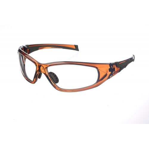 Superlite - Wrap-Around Lead Radiation X-Ray Imaging Safety Glasses - 0.75mm Lead Glass (Plano 0.75mm Lead Glass w/Anti-Reflective Coating + Additional 0.50mm Lead Side Strips)