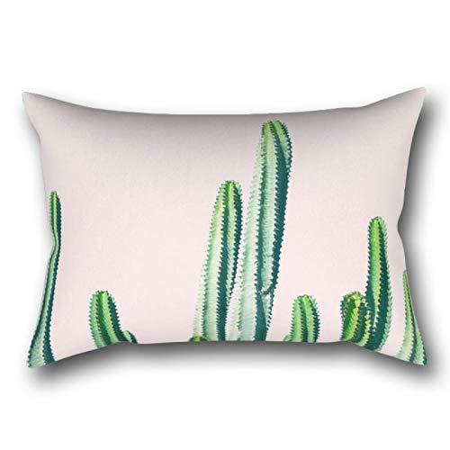 Myhou Cactus V6 Rectangular Pillowcase Cushion Cover 20x30 Inch