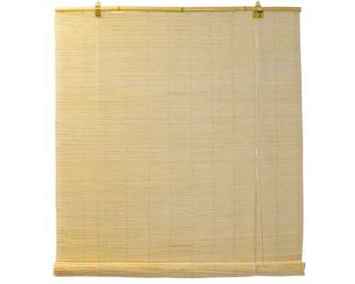 Seta Direct, Natural Bamboo Matchstick Roll Up Window Blind 36-Inch Wide by...