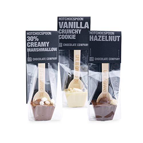 HOTCHOCSPOON Creamy & Crunchy 3er-Set