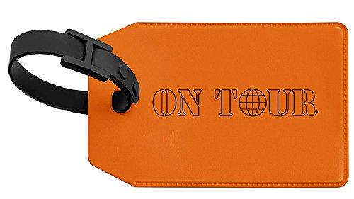 VELOFLEX 2651330 Kofferanhänger VELOCOLOR Taschenanhänger Gepäckanhänger, mit Adressschild, 70 x 110mm, orange