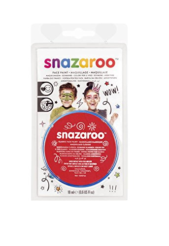 Snazaroo Blister Fard Aquarellable 18ml Rouge Vif