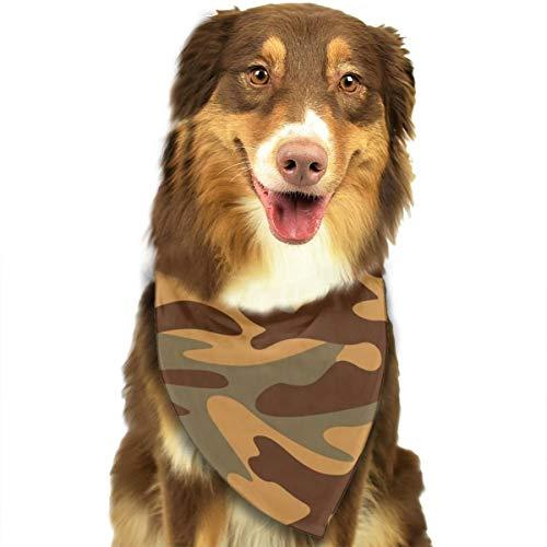 Sitear Camouflage Texture Militaire Behang Hond Kat Bandana Driehoek Bibs Sjaal Huisdier Geschikt voor Kleine Tot Grote Hond Katten
