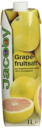 Jacoby Grapefruitsaft aus Grapefruitsaftkonzentrat, 6er Pack (6 x 1 l)
