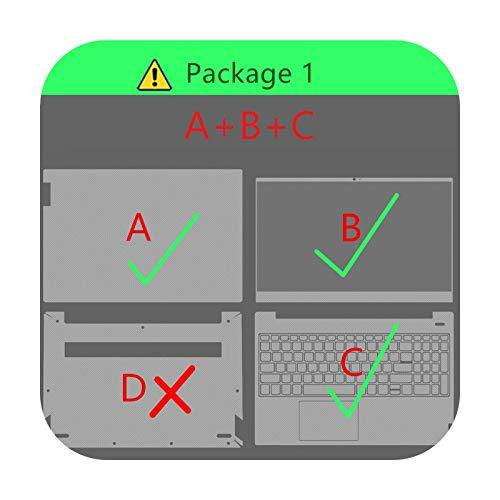 Pegatina para ordenador portátil Lenovo Miix 310, 320, 325, piel de A B, C-Miix 5 Pro Miix 720