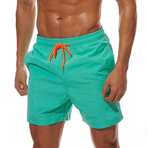 YHXY Pantalones Cortos para Hombres Bañador Casual Pantalones Cortos de Playa de Surf Pantalones Cortos de Secado rápido