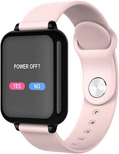 Reloj inteligente con pantalla de 1 3 pulgadas, monitor de actividad física, podómetro, pulsera de mensaje, recordatorio inteligente, IP67, impermeable, 180 mAh-rosa