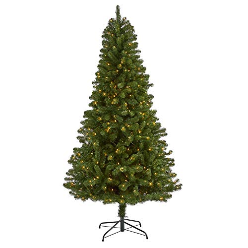 7.5ft. Virginia Fir Artificial Christmas Tree with 450 Clear Lights and 979 Bendable Branches