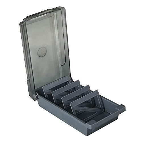 1 organizador de tarjetas de visita con capacidad para 500 tarjetas con pestañas de índice y separadores
