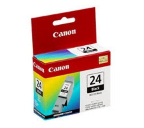 CANON Cartucho BCI-24 - Negro + Papel resmilla Goodway - 80 g / m² - A4 - 500 hojas