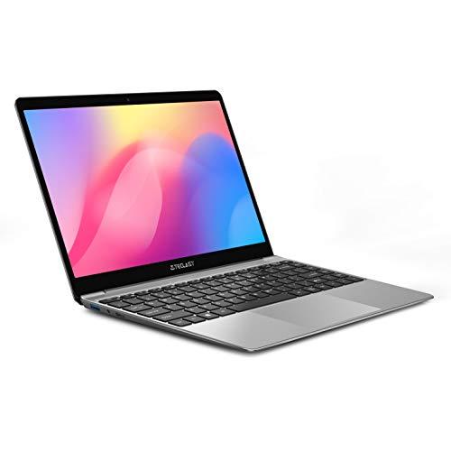 TECLAST F7S Ordenador Portatil 14.1 Pulgadas, Portátil Pc 8GB RAM 128GB ROM(Extensión del SSD 256GB), Dual-Core 1920×1080 IPS, Intel Celeron N3350, Windows 10, Batería 38000mWh, USB3.0/WiFi/Bluetooth