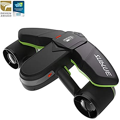 WINDEK SUBLUE Navbow Smart Underwater Scooter with Action Camera Mount OLED Display 40M Waterproof for Water Sports Swimming Pool & Diving & Snorkeling & Sea Adventures