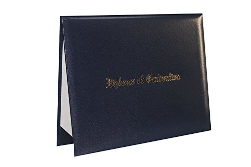 GraduationForYou Smooth Imprinted'Diploma of Graduation' Certificate Cover 8 1/2' x 11'
