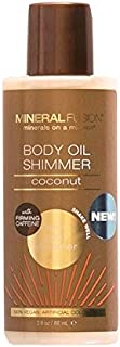 Mineral Fusion Bronze Body Oil Shimmer, Macadamia Nut, 3 Ounce