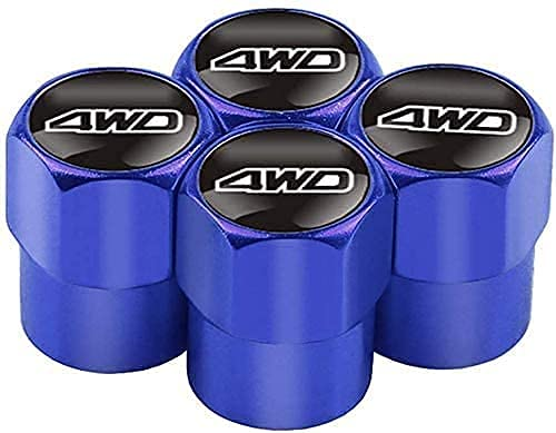 4 Piezas Metal Válvula De Neumático De Automóvil para CRV Civic Suzuki, Ruedas Cubierta de Polvo Tapas, Aire de vástago de neumático Cubiertas herméticas
