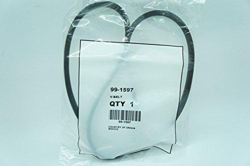 GENUINE OEM TORO PART # 99-1597 BELT; TORO SELF PROPELLED MOWER BELT /&supplier-outdoorpowerequipment