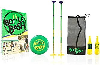 Poleish Sports 616-GAME Bottle Bash Standard Game Set with Soft Surface Spike