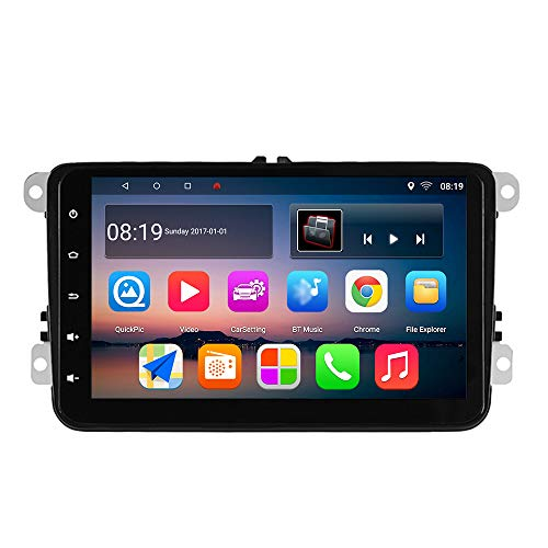 KKXXX Android Auto Stereo voor VW, S8 8 inch 1GB RAM 16GB ROM