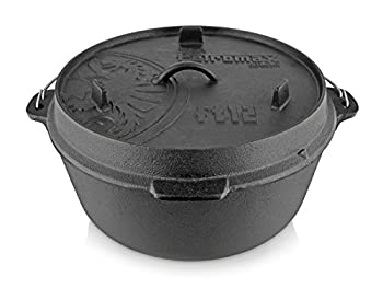 Petromax Pieds marmite noir fond plat