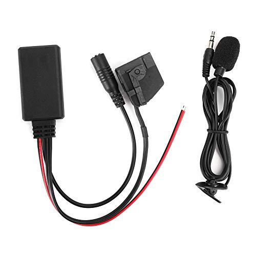 Adaptador de audio-18Pin MFD2 RNS2 Adaptador Bluetooth Radio Cable auxiliar inalámbrico