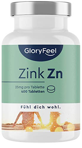 gloryfeel -  Zink 25mg - 400