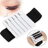 Eyelash Extension Kit Eyelashes Stand Holder, Eyelash Stand, Eyelash Extension Stand Holder Palette with Belt Eyelash Make up Tool