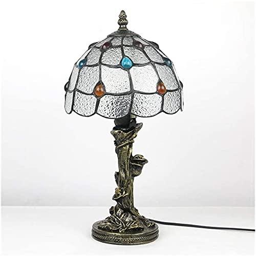 Lámpara de mesa tiffany lámpara de noche lámpara dormitorio al por mayor retro amazon eBay estudio lámpara iluminación accesorios iluminación-