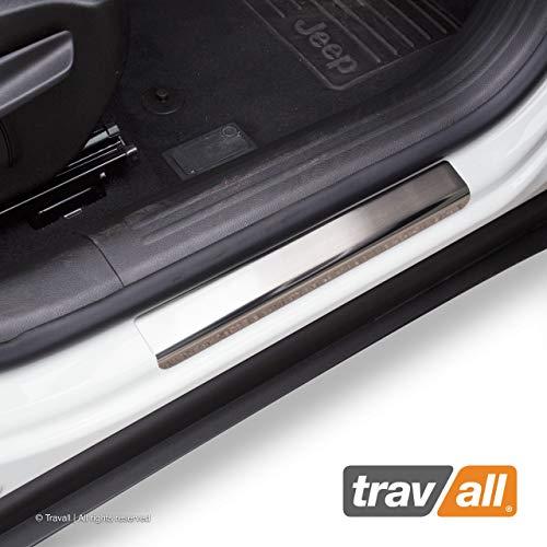 Preisvergleich Produktbild Travall SillGuards TSG1015M fahrzeugspezifisches Edelstahl-Set mit Premium Ladekantenschutz