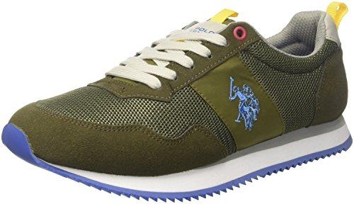 U.S. POLO ASSN. TALBOT1, Sneaker Uomo, Verde (Military Green), 42 EU